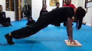 Fingertip Plank Hold