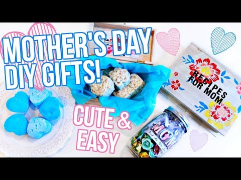 DIY Mother's Day Gift Ideas 2018!