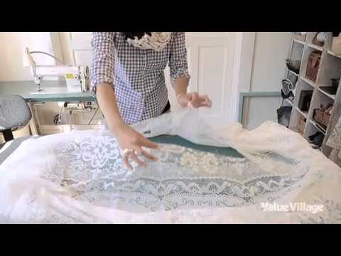 Beau DIY Tablecloth Skirt