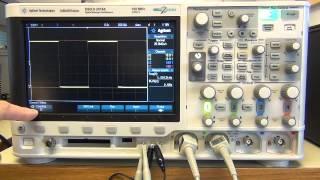 Introduktion till oscilloskop DSOX2014