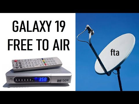 How to install Galaxy 19 (97 West) FTA FREE CHANNELS North America