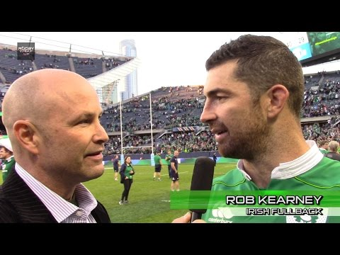 ON CAMERA after Ireland beat All Blacks: Joe Schmidt, Rob Kearney, CJ Stander, Dan Payne