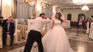 Веселый танец папы с невестой!  Смеялся до слез!!!!!!!!!!!!!!!!