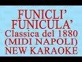 Funiculì Funiculà - Midi Napoli - New Karaoke - Antologia della canzone napoletana