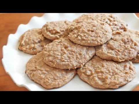 Sugar-Free Banana Oat Breakfast Cookies | SweetTreats
