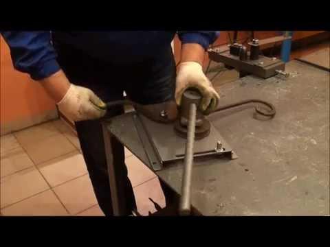 инструмент для холодной ковки волна