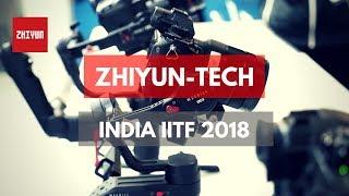 Zhiyun Weebill LAB And Crane 3 LAB Gimbals In India IITF2018