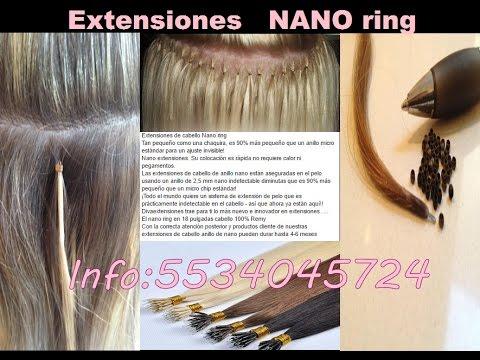 COMO COLOCAR EXTENSIONES DE NANO RING LAS MEJORES - YouTube a25896057c48