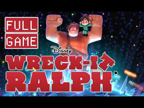 Wreck-It Ralph Walkthrough FULL GAME Longplay (Wii, 3DS)
