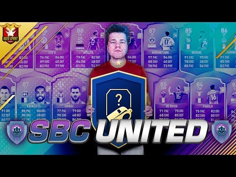 NOWA SERIA!!! SBC UNITED!!! FIFA 17 ULTIMATE TEAM