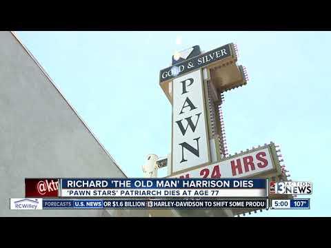 Richard 'The Old Man' Harrison dies after battling Parkinson's Disease