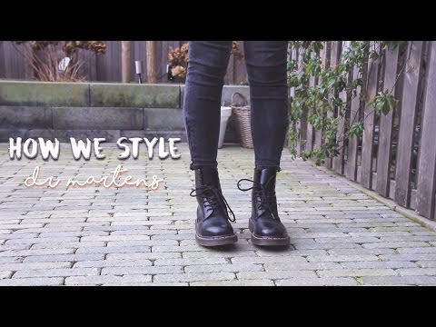how we style: dr martens