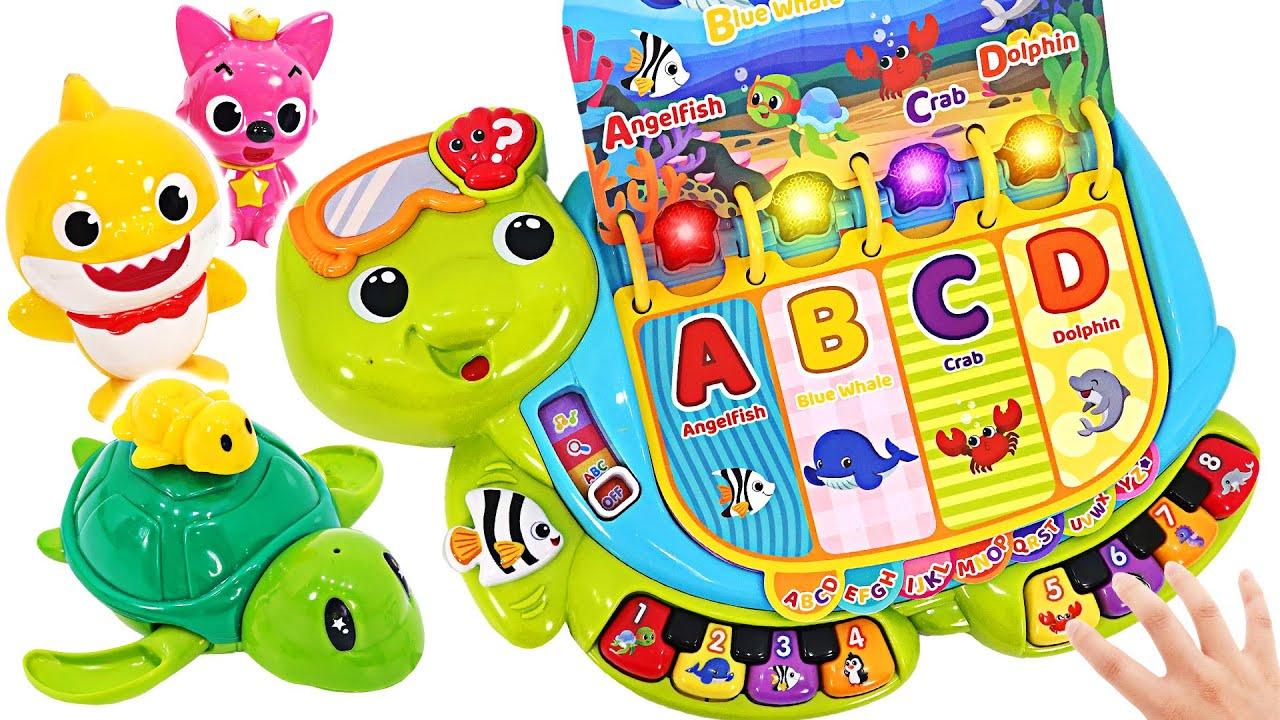 الغناء لعبة لمسة السلحفاة! هيا نلعب مع صرخة طفل و بينكفونغ!