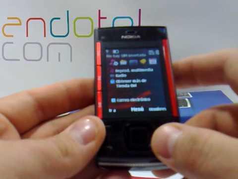Nokia X3 Demostracion del telefono movil de Nokia a cargo de Andotel.com