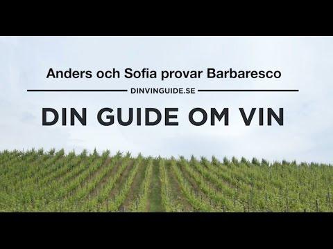 Anders och Sofia provar Barbaresco