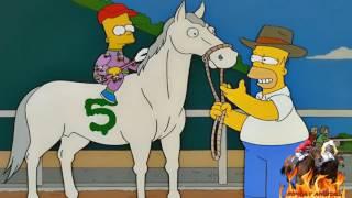 Los Simpsons  , Homero Prepara un caballo de carreras