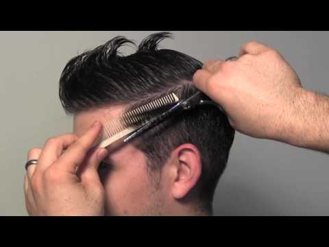 Classic Tailored Men's Hair Cut