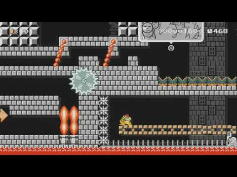 Bowser's in trouble... help him! by Ann-Catrin ~SUPER MARIO MAKER~ NO COMMENTARY