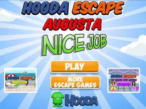 Hooda Escape Augusta Walkthrough Youtube