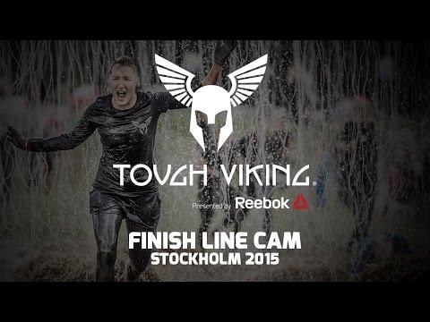 Finish Line Cam: Tough Viking Stockholm 2015