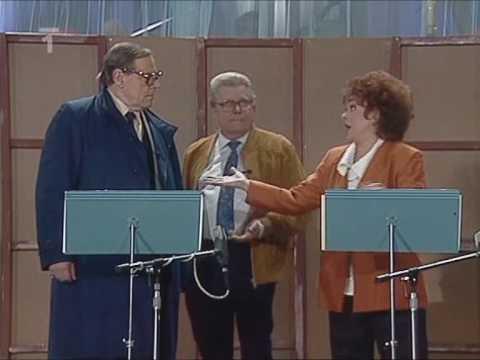 """Jiřina Bohdalová, Vladimír Dvořák & Josef Bek """"V rozhlase"""" (1987)"""