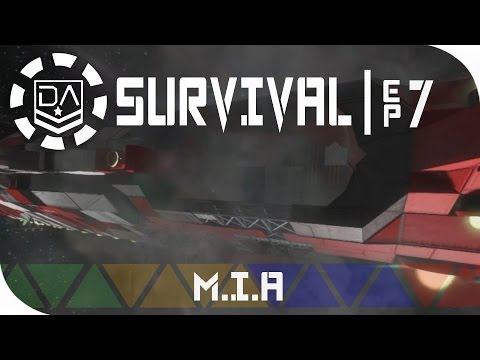 Space Engineers Survival   Ep7 - Missing In Action