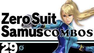 Smash Ultimate Zero Suit Samus Combos (ZSS)