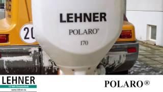 Установка и подключение разбрасывателя сыпучих материалов Polaro от производителя LIHNER
