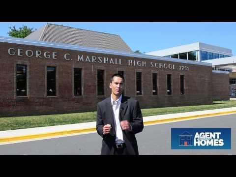 Marshall High School near Tysons Corner