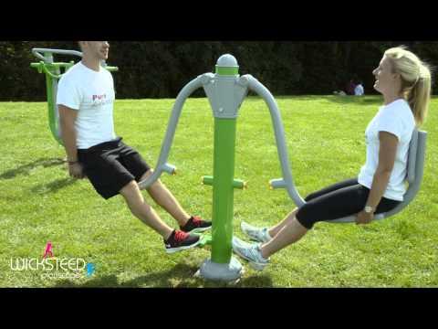 Leg Press - Outdoor Gym Equipment