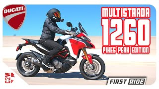 2019 Ducati Multistrada 1260 Pikes Peak Edition First Ride