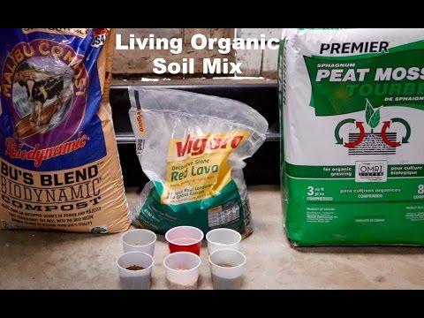 Living Organic Soil Mix - Indoor Cannabis Grow