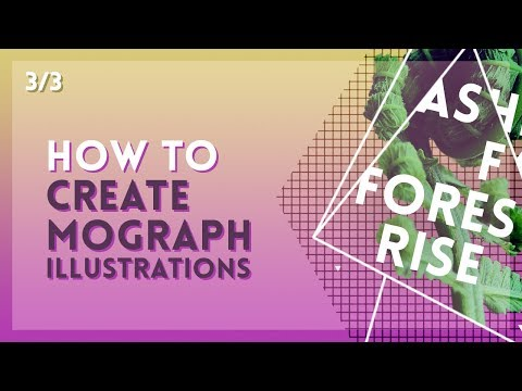 Easy Motion Graphics Illustration Techniques [3/3] | After Effects Tutorial