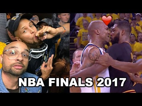 Thumbnail: NBA FINALS 2017 FUNNY MOMENTS Ft. Kevin Durant, Steph Curry, Lebron James, Kyrie Irving...