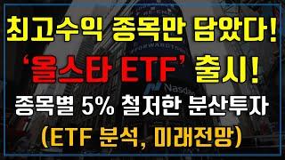 최고수익 종목만 담은 올스타 ETF 출시! (MVPS …