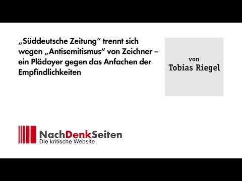 """""""Süddeutsche Zeitung"""" trennt sich wegen """"Antisemitismus"""" von Zeichner"""