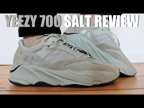 detailed pictures c0e3c 6fa79 ดาวน์โหลดเพลง Yeezy 700 Salt Review + On Feet & Sizing หรือ ...