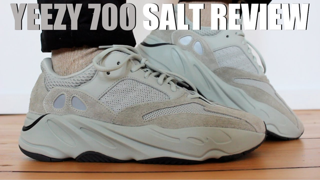 sports shoes bd7ed 9f01e YEEZY 700 SALT REVIEW + ON FEET & SIZING