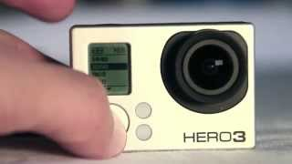 Basic GoPro Hero3 set up for complete beginners