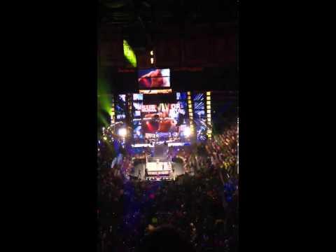 WWE John Cena & Del Rio 2013 Survivor Series Entrance (Boston,Ma) TD Garden