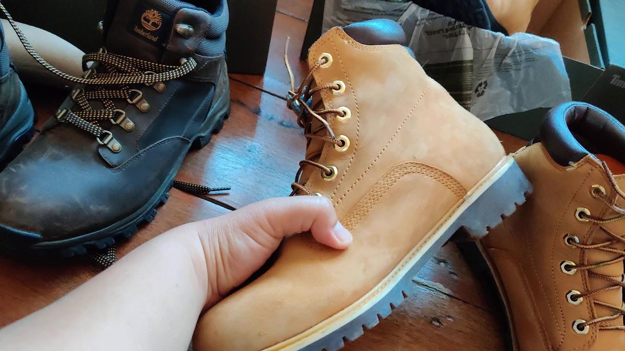 รีวิว รองเท้าใส่เที่ยว timberland waterproof boots