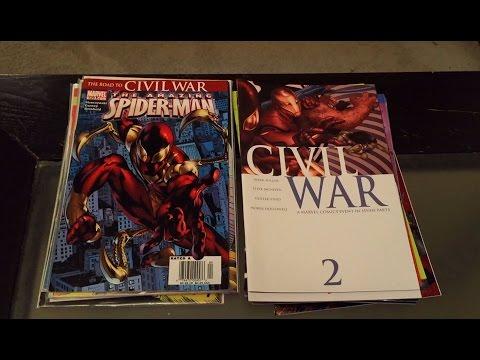 Half Price Books Comic Book Haul 11 (Marvel Civil War!)