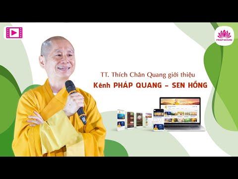 Sư Phụ giới thiệu kênh Sen Hồng trên Youtube