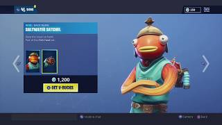 **NEW** NEW FISHSTICK SKIN! FORTNITE ITEM SHOP DECEMBER 27, 2018