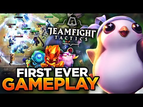 FIRST GAMEPLAY FOOTAGE! | TEAM FIGHT TACTICS (FULL GAME)