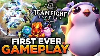 Download FIRST GAMEPLAY FOOTAGE! | TEAM FIGHT TACTICS (FULL GAME) Mp3 and Videos