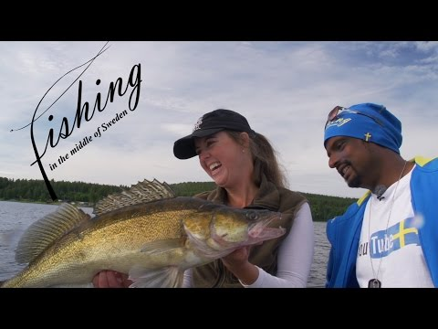 Fishing In The Middle Of Sweden - Summer Fishing For Zander