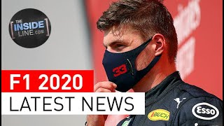 LATEST F1 NEWS: Max Verstappen, Nico Hulkenberg, Valtteri Bottas, Murray Walker