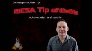 RHCSA Tip of the Week - Autofs