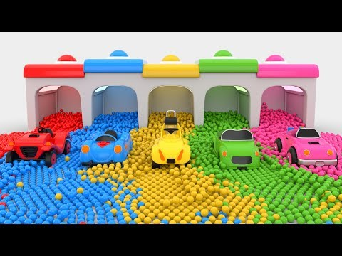 Thumbnail: Colors for Children to Learn with Cars Toys - Colors Collection for Children